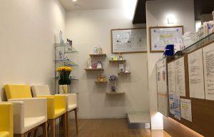 アイリス歯科院内待合室