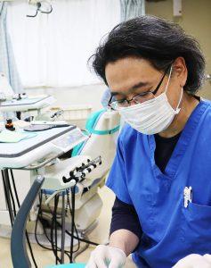池田先生診療風景